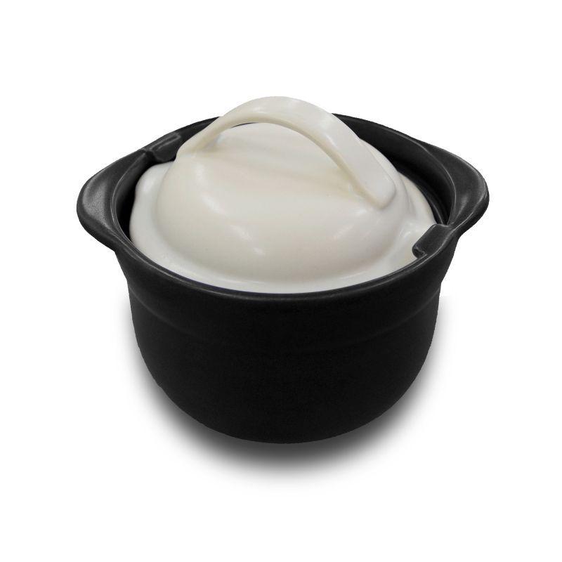 画像1: おひつ+ごはん鍋 (3合炊き)