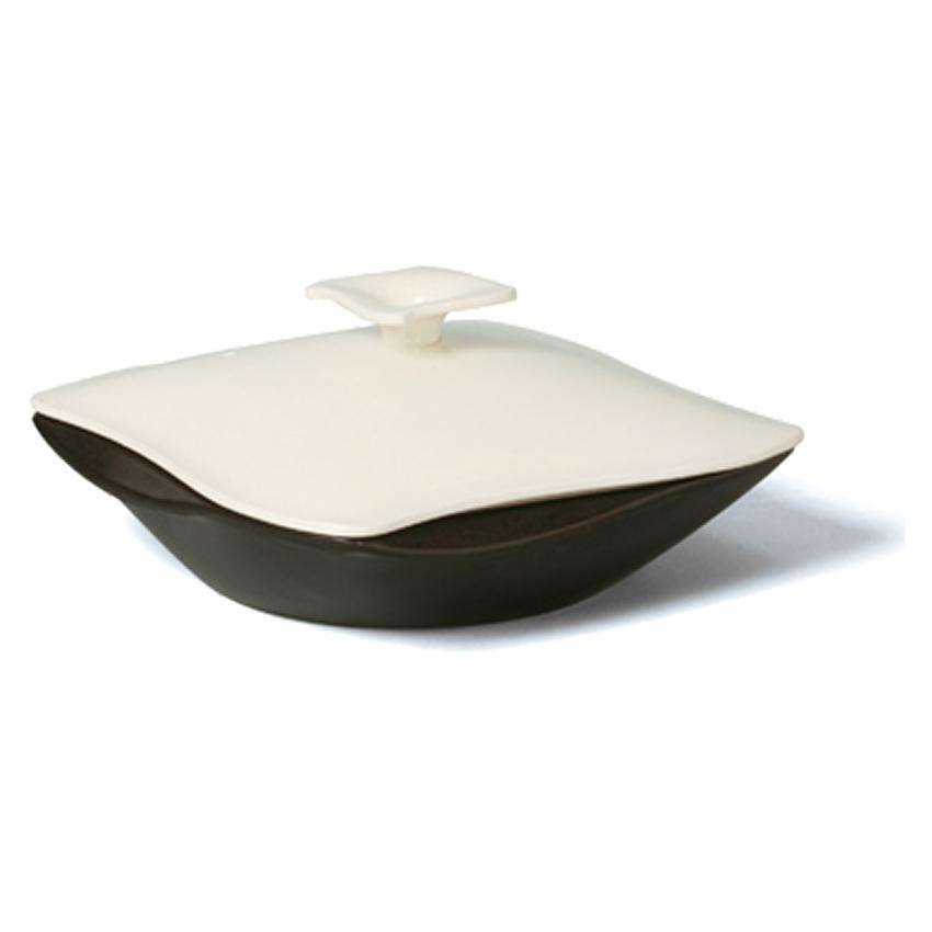 画像1: スタイリッシュ鍋/蓋付