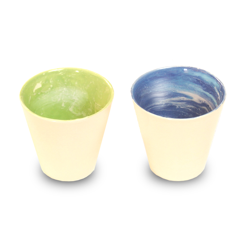 画像1: earth in the cup pair (forest / earth)