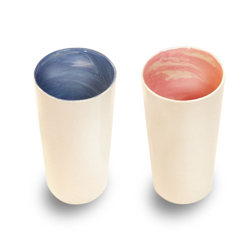 画像1: earth in the tumbler pair (earth / coral)
