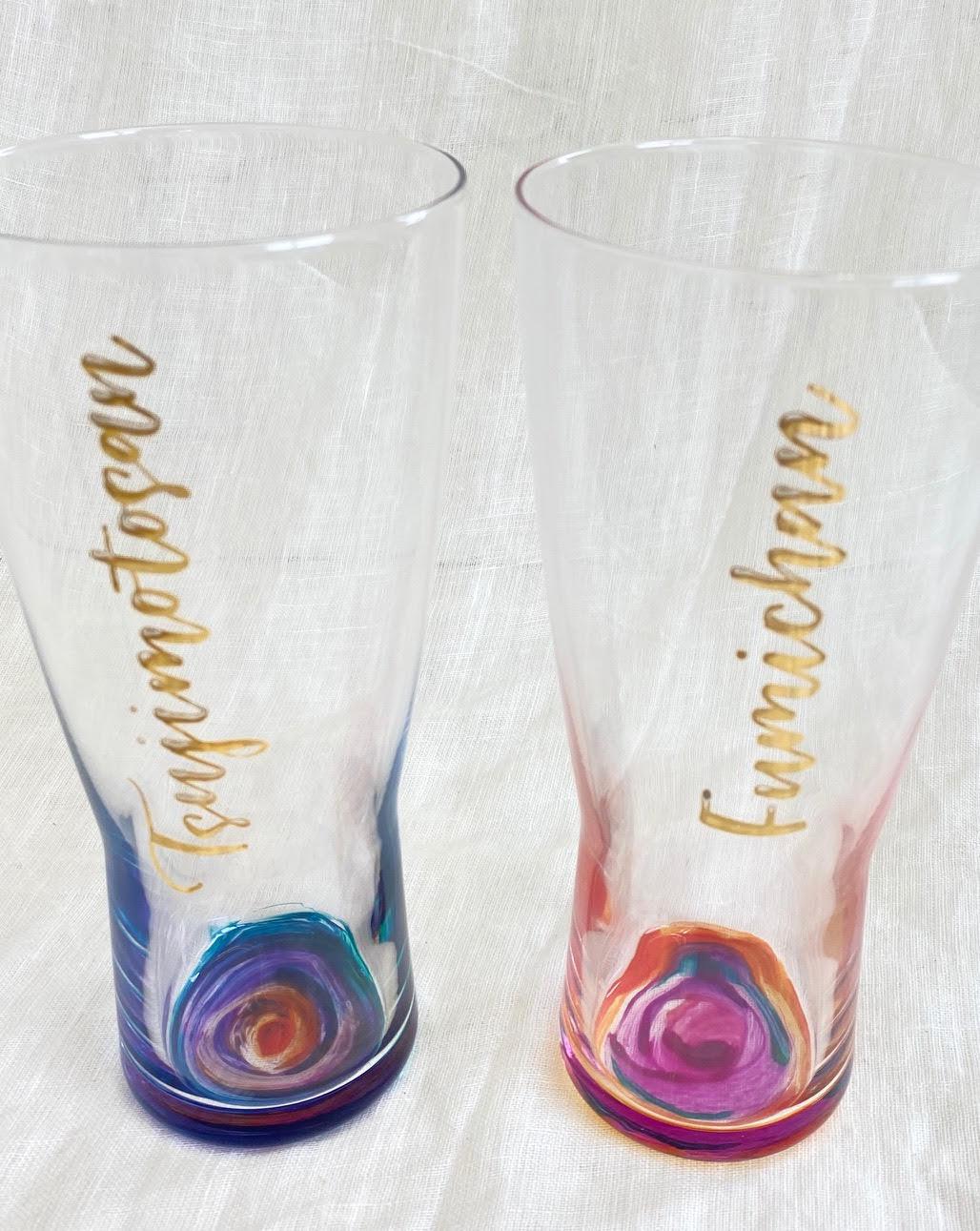 画像1: Oiwai glass